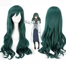 "TLT 27.5"" Women's Wig Gradient Long Hair Heat Resistant Curly Cosplay Wigs Harajuku Style Lolita (Dark green)"