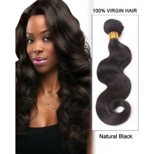 "16"" Body Wave Brazilian Virgin Remy Hair Weave Weft  Human Hair Extensions"