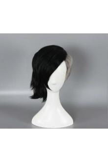 Black Grey Anime Tokyo Ghoul Uta Short High Quality Syntehtic Cosplay Wig