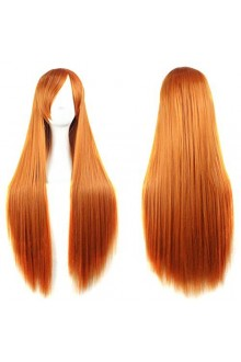 Outop Long Straight Anime Supia-Yisol Cosplay Wigs 80cm Orange