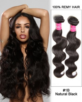 """20"""" Body Wave Brazilian Remy Hair Weave Weft Human Hair Extensions"""