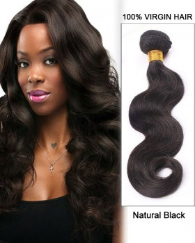 """16"""" Body Wave Brazilian Virgin Remy Hair Weave Weft  Human Hair Extensions"""